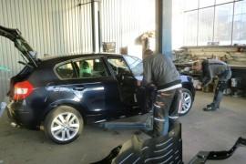 Motorinstandsetzung, Werbebeschriftung WAL, Lackierung PKW